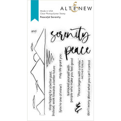 Peaceful Serenity, Altenew Clear Stamps - 737787272367