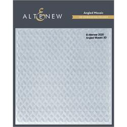 Angled Mosaic 3D, Altenew Embossing Folder - 737787272541