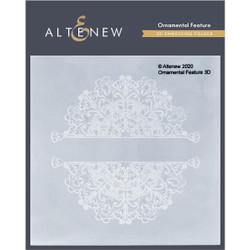 Ornamental Feature 3D, Altenew Embossing Folder - 737787272565