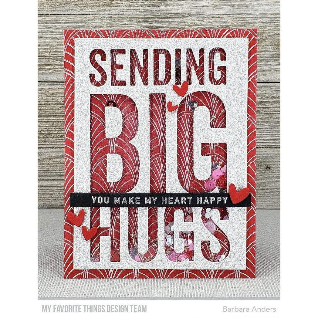 Fanfare Background, My Favorite Things Cling Stamps - 849923037492