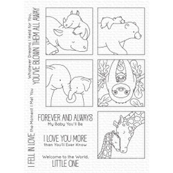 I'll Love You Forever by Birdie Brown, My Favorite Things Clear Stamps - 849923038017