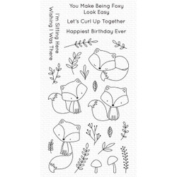 Let's Curl Up, My Favorite Things Clear Stamps - 849923038048