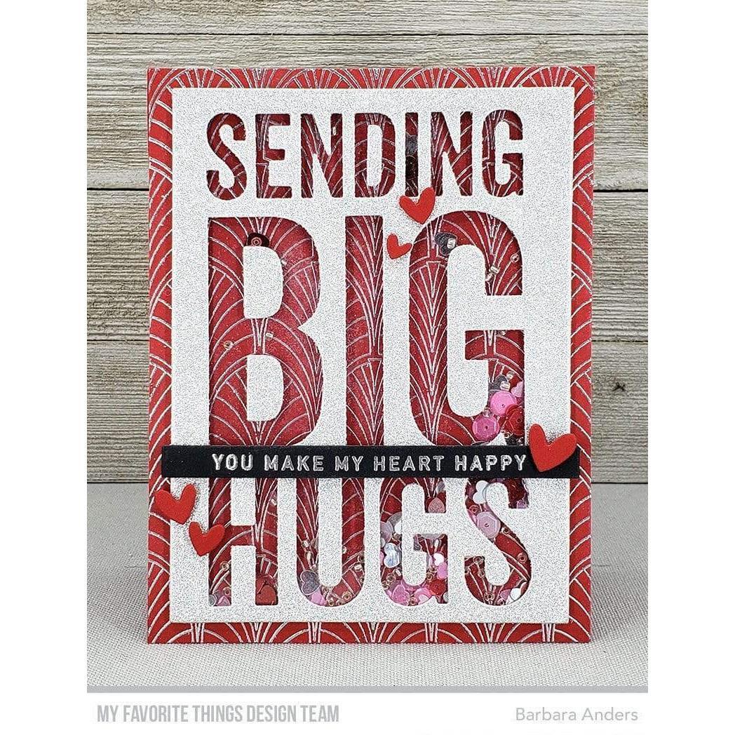 Sending Big Hugs, My Favorite Things Die-Namics - 849923038178