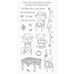 Tea Party by Stacey Yacula, My Favorite Things Clear Stamps - 849923038215