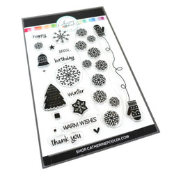 Winter Wishes, Catherine Pooler Clear Stamps -