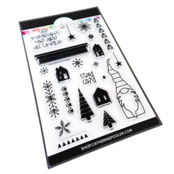 Winter Mantle, Catherine Pooler Clear Stamps -