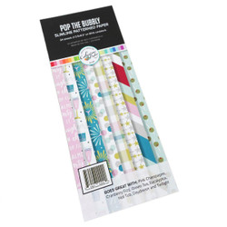 Pop the Bubbly Slimline, Catherine Pooler Patterned Paper -