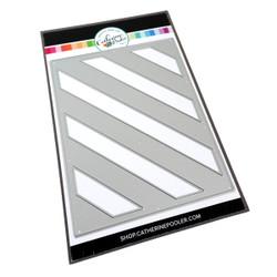 Diagonal Stripe Cover Plate, Catherine Pooler Dies -
