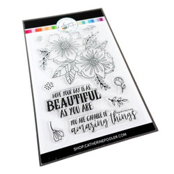 Beautiful Day Floral, Catherine Pooler Clear Stamps -