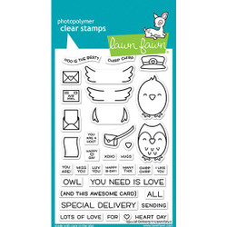 Special Delivery, Lawn Fawn Clear Stamps - 035292676848