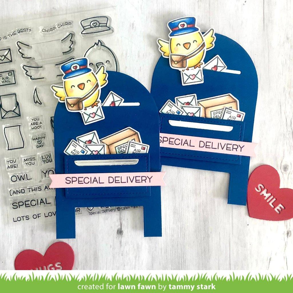 Special Delivery Box Add-On, Lawn Fawn Clear Stamps - 035292676862