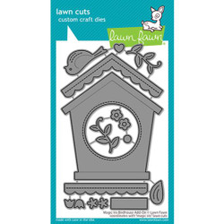 Magic Iris Birdhouse Add-On, Lawn Cuts Dies - 035292676893