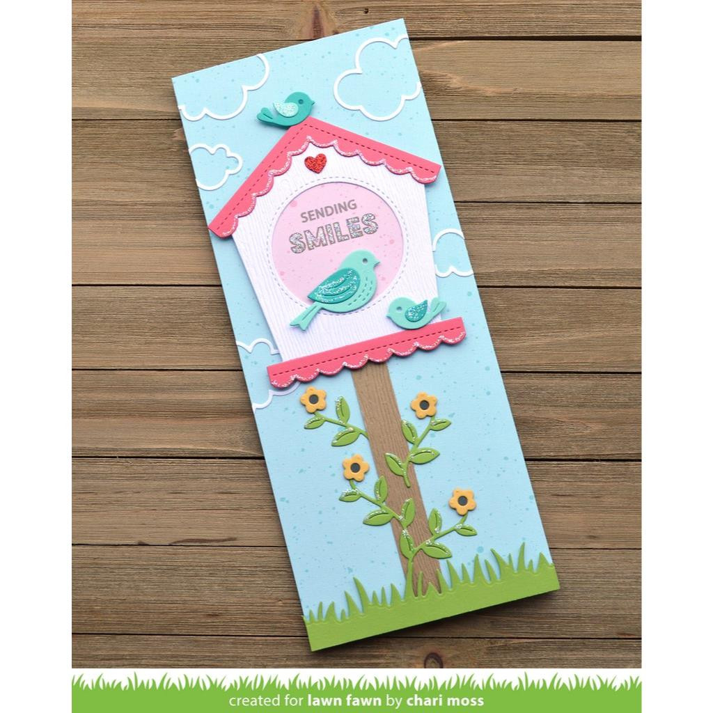 Magic Iris Birdhouse Add-On, Lawn Cuts Dies - 035292676893
