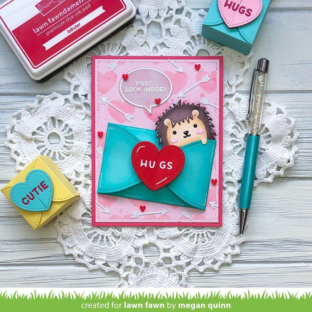 Gift Card Heart Envelope, Lawn Cuts Dies - 035292676909