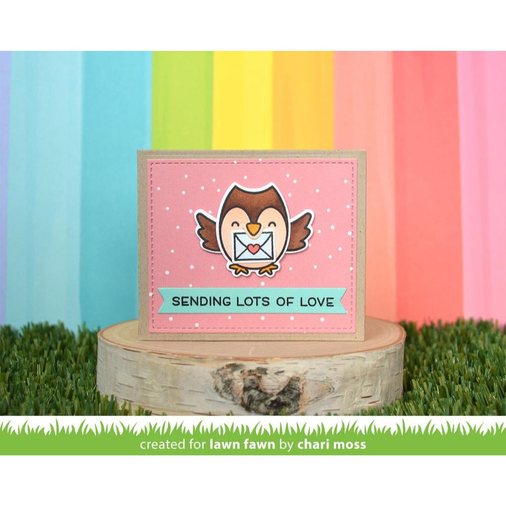 Center Picture Window Card Heart Add-On, Lawn Cuts Dies - 035292676916