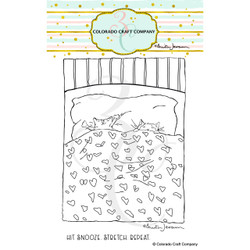 Snoozing Kitties by Anita Jeram, Colorado Craft Company Clear Stamps - 810043854085