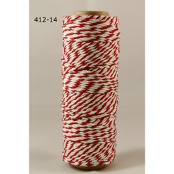 Baker's Twine Twisted Ribbon - Red, May Arts - 848208000756