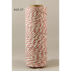 Baker's Twine Twisted Ribbon - Pink, May Arts - 848208000770
