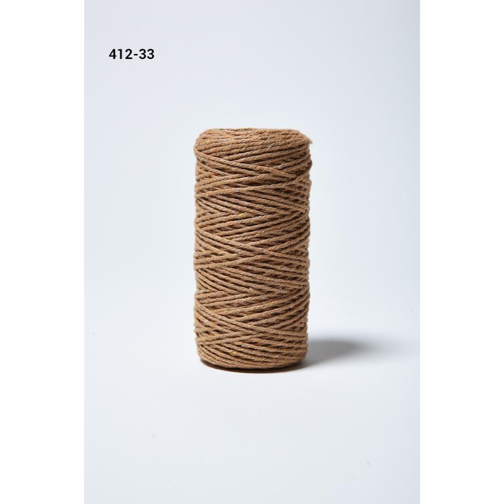 Baker's Twine Twisted Ribbon - Kraft, May Arts - 848208005645