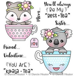 Best-Tea, Darcie's Clear Stamps -