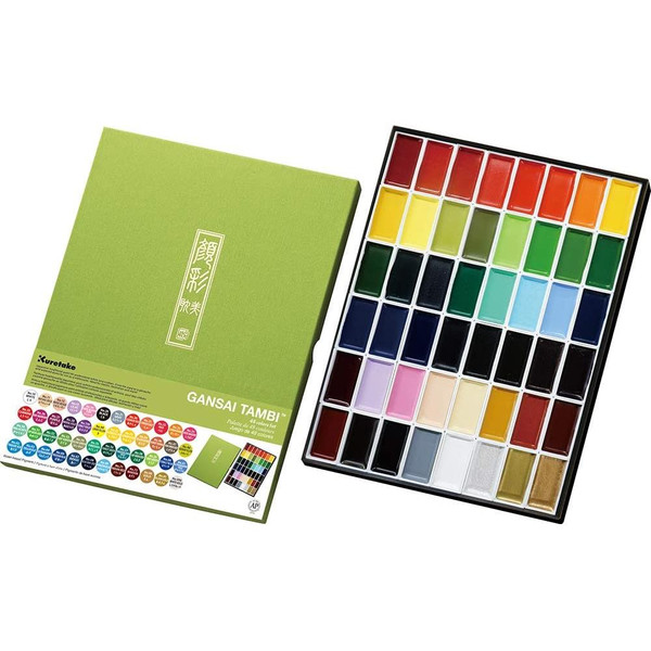 48 Color Set, Gansai Tambi -