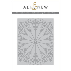 Dotted Lines Debossing Cover, Altenew Dies -