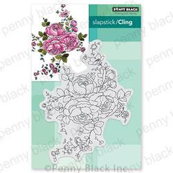 Rose Dance, Penny Black Cling Stamps -