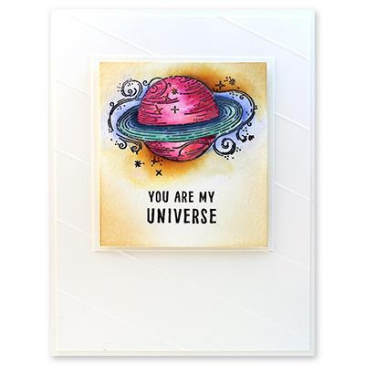 ...My Universe, Penny Black Cling Stamps -