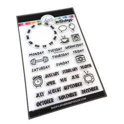 Year Round Essentials, Catherine Pooler Clear Stamps -