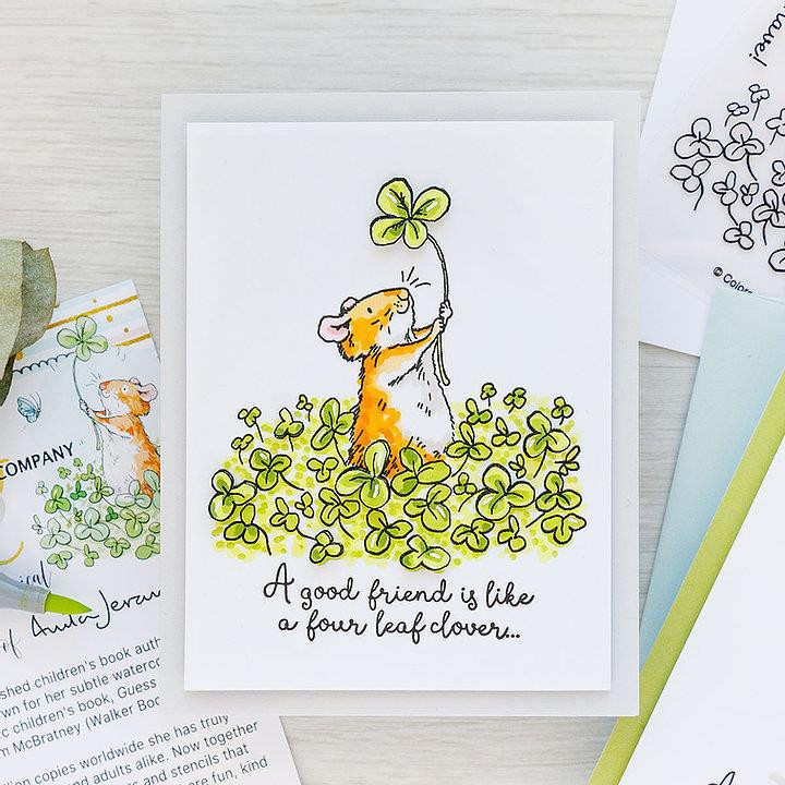 4 Leaf Clover by Anita Jeram, Colorado Craft Company Dies -