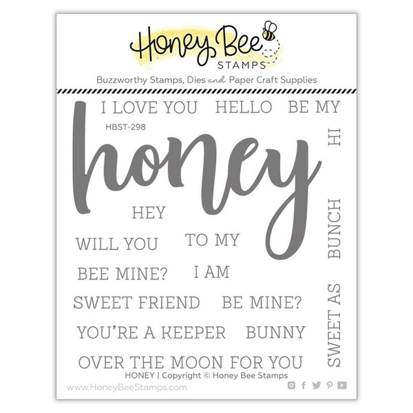 Honey, Honey Bee Clear Stamps -