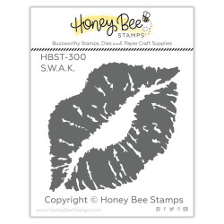 S.W.A.K., Honey Bee Clear Stamps -