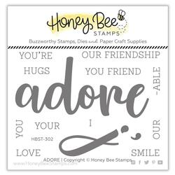 Adore, Honey Bee Clear Stamps -