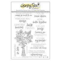 Love You Bunches, Honey Bee Clear Stamps -