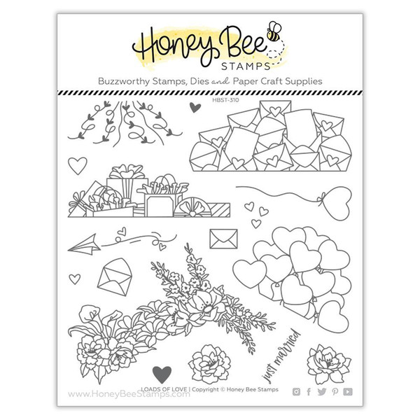 Loads of Love, Honey Bee Clear Stamps -