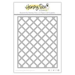 Quilted A2 Cover Plate, Honey Cuts Dies -