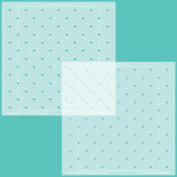 Quilted Hearts & Dots, Honey Bee Stencils -