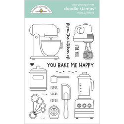 Made With Love, Doodlebug Clear Stamps -