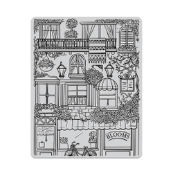 Flower Shop Background, Hero Arts Cling Stamps -