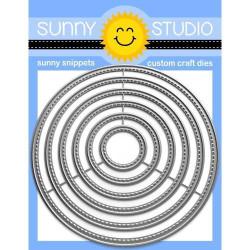 Stitched Circle - Large, Sunny Studio Dies -