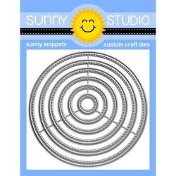 Stitched Circle - Small, Sunny Studio Dies -