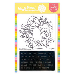 Love Letter, Waffle Flower Clear Stamps -