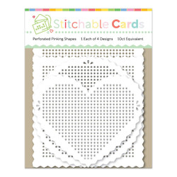 Perforated Pinking Shapes, Waffle Flower -