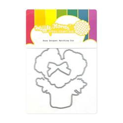 Rose Bouquet, Waffle Flower Dies -