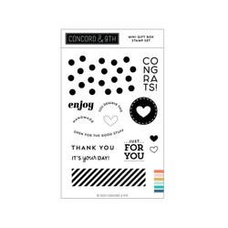 Mini Gift Box, Concord & 9th Clear Stamps -