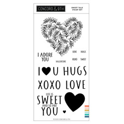 Sweet Talk, Concord & 9th Clear Stamps -