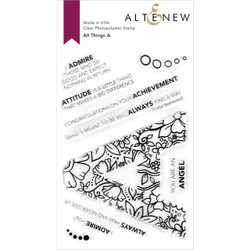 All Things A, Altenew Clear Stamps -