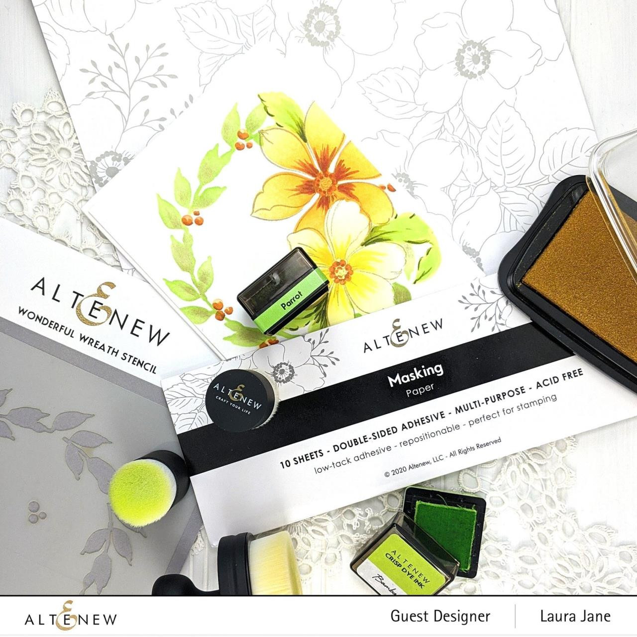 Masking Paper (10 Sheets), Altenew Tools -