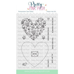 All My Love, Pretty Pink Posh Clear Stamps -