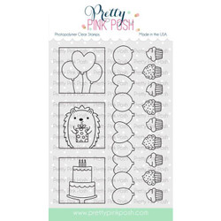 Party Days, Pretty Pink Posh Clear Stamps -